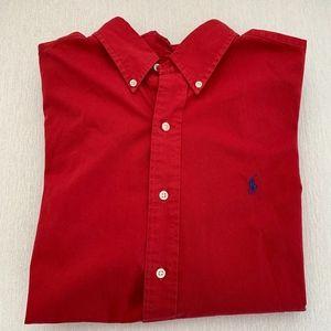 Ralph Lauren Classic Fit Button Down Shirt Size L